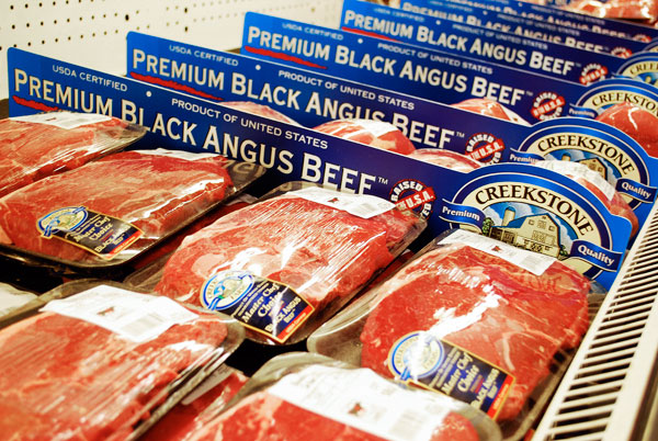 Creekstone Premium Black Angus beef available at Green Hills Market in Central New York and at Shop N Save in Bridgeview, IL. (Photograph: Green Hills Market Blog)
