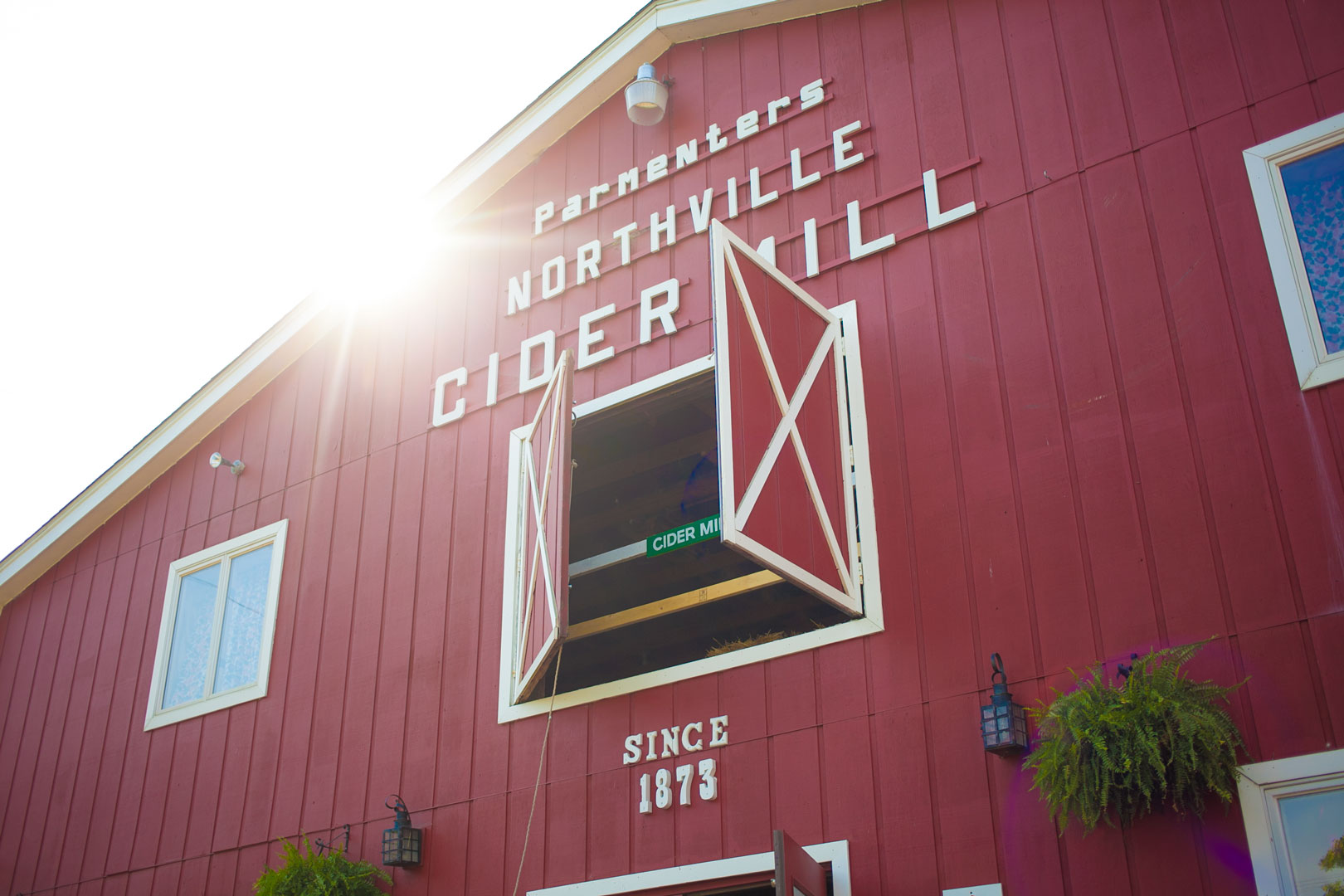 Parmenter's Cider Mill in Northville, MI.