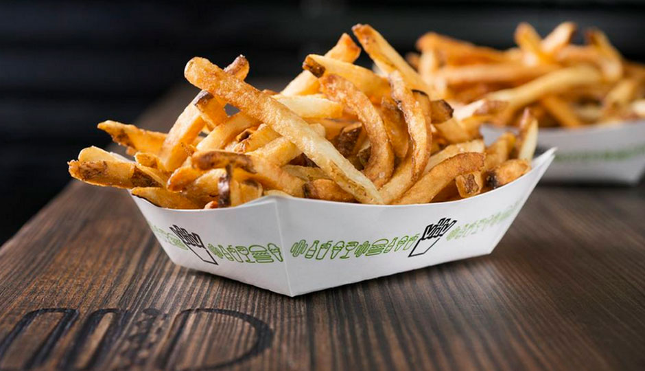 Hand-cut Fries, the way fries should be. [Photo: Evan Swung/Philly Mag]