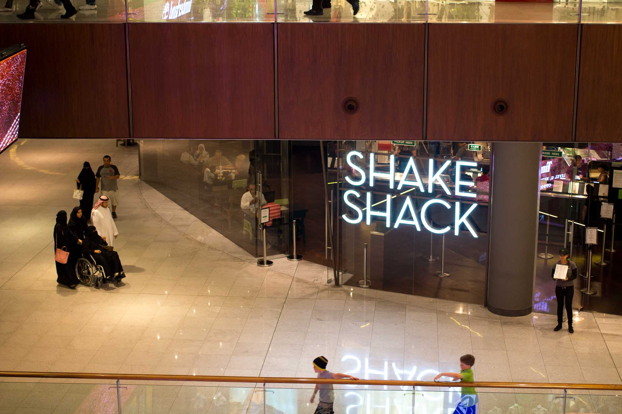 Shake Shake Dubai, one of numerous locations in the Middle East. [Photo: Krista Garcia/Goodies First]