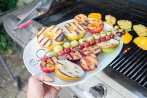 Want To Add Some Summer Flavor To Your Fruit Chaat? Grill Your Fruit