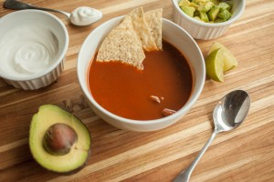 Got Leftover Halal Turkey? Make This Chile-Flavored Tortilla Soup